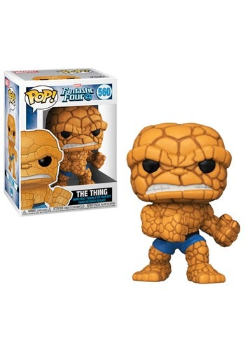 Pop! Marvel: Fantastic Four- The Thing upd