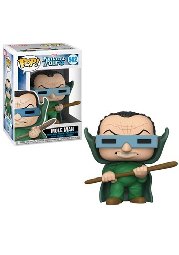 Pop! Marvel: Fantastic Four- Mole Man upd