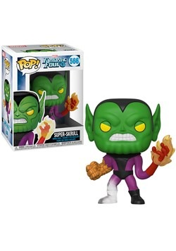 Pop! Marvel: Fantastic Four- Super-Skrull upd