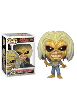 Pop! Rocks: Iron Maiden- Killers (Skeleton Eddie)