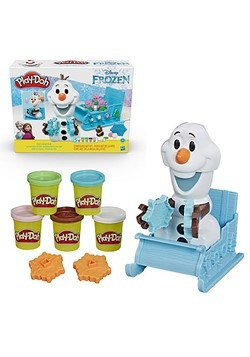 Frozen Play-Doh Olaf's Sleigh Ride Toy