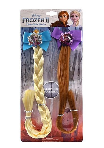 Frozen 2 BFF Anna and Elsa 2 Pack Faux Hair