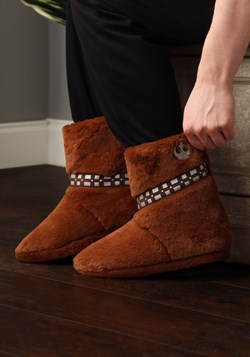 Men's Star Wars Chewbacca Furry Slippers Update