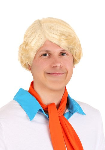Men's Scooby Doo Fred Wig