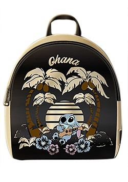 Loungefly Disney Stitch Satin Mini Backpack Update