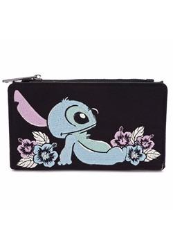Loungefly Disney Stitch Satin Flap Wallet update1