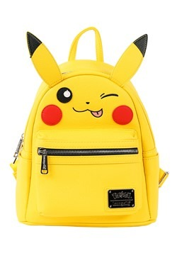 Loungefly Pikachu Faux Leather Mini Backpack