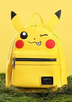 Loungefly Pikachu Faux Leather Mini Backpack alt3