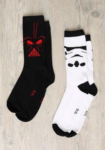 Stormtrooper Darth Vader 2-Pack Crew Socks update