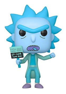 Pop! Animation: Rick & Morty- Hologram Rick Clone