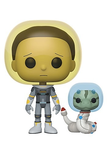 Pop! Animation: Rick & Morty- Space Suit Morty w/ Snake