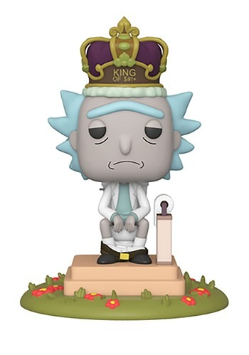 Pop! Deluxe: Rick & Morty- King of $#!+ w/ Sound