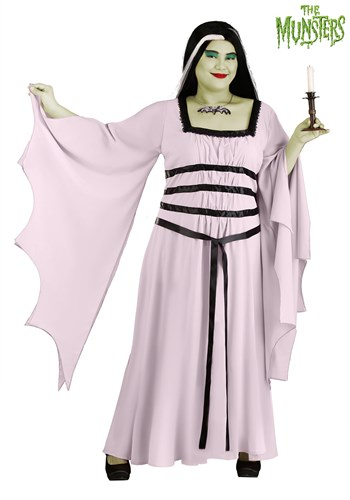 Womens Plus Size Munsters Lily Costume