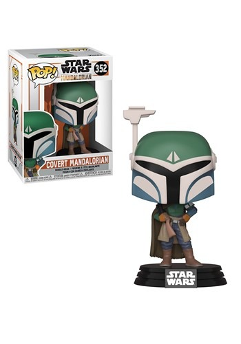 Pop! Star Wars: Mandalorian- Covert Mandalorian