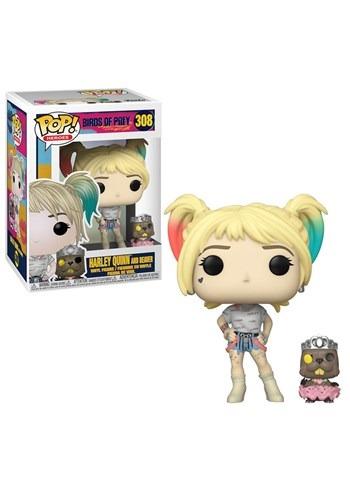 Pop! Heroes: Birds of Prey- Harley Quinn w/ Beaver upd