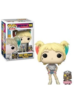 Pop! Heroes: Birds of Prey- Harley Quinn w/ Beaver upd