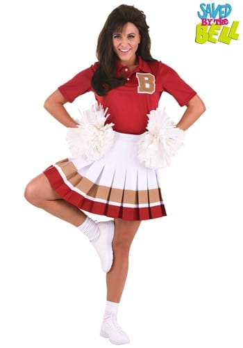 Womens Saved By the Bell Cheerleader Costume