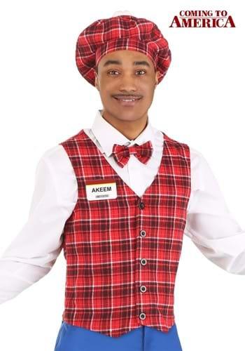 Mens Coming to America McDowells Costume