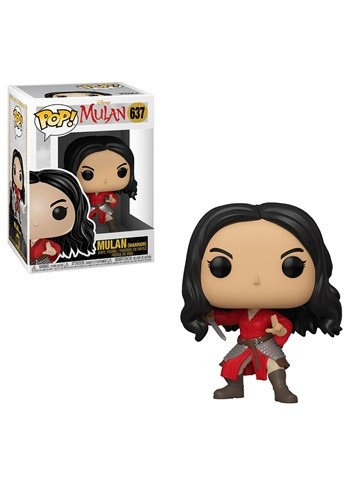 Pop! Disney: Mulan (Live) - Warrior Mulan