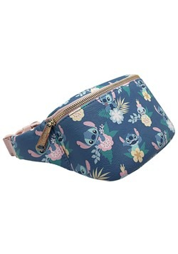 Loungefly Disney Stitch Floral Print Faux Leather Fanny Pack