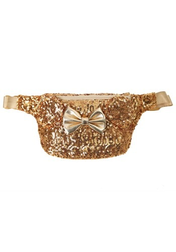 Loungefly Disney Minnie Mouse Sequined Fanny Pack