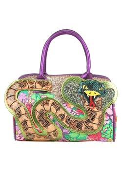 Irregular Choice Be Charming Snake Handbag