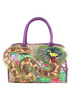 Irregular Choice Be Charming Snake Handbag