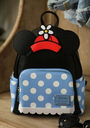 Loungefly Positively Minnie Polka Dot Mini Backpack Main UPD