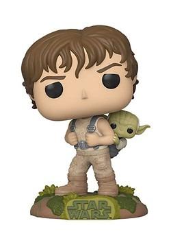 Training Luke with Yoda Pop 10 cm Figurine Star Wars