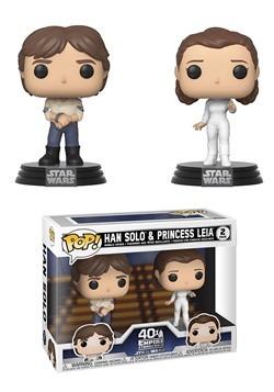 POP! Star Wars - 2PK Han & Leia