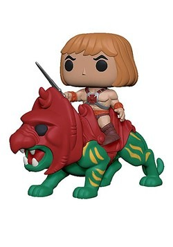 POP Animation: Masters of the Universe (MOTU) - He-Man on Ba