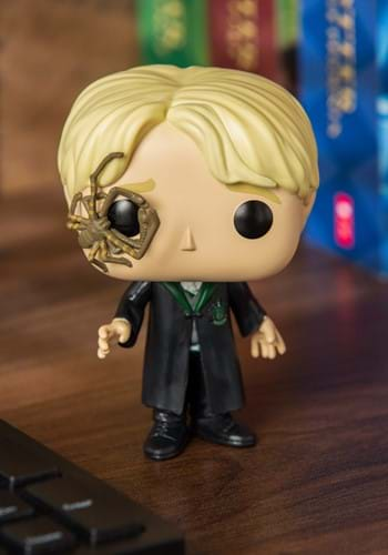 POP HP Draco Malfoy w Whip Spider Vinyl Figure
