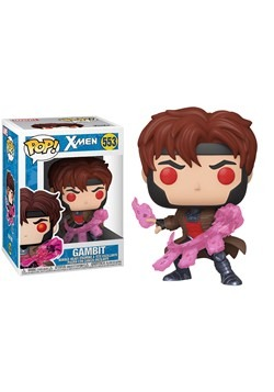 POP Marvel XMen Classic Gambit w Cards Bobblehead Figure