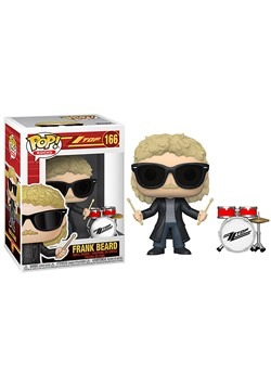POP Rocks ZZ Top Frank Beard