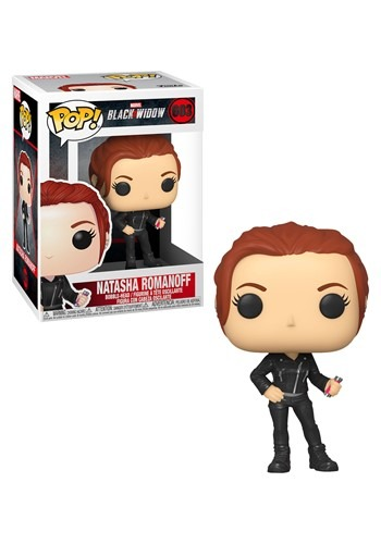 Pop! Marvel: Black Widow - Black Widow (Street)