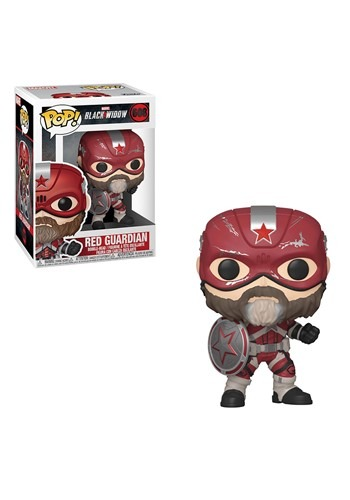 Pop! Marvel: Black Widow – Red Guardian