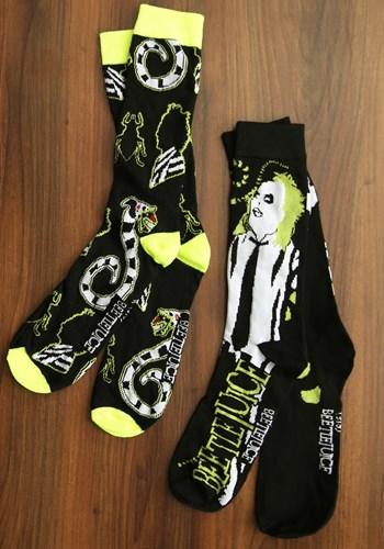 Black Beetlejuice 2 Pair Pack Socks update
