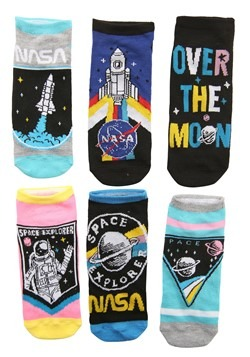 Women's NASA 6 Pair Pack Low Cut Socks