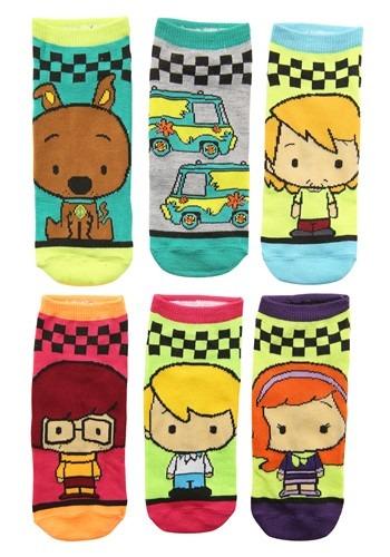 Women's Scooby Doo 6 Pair Pack Low Cut Socks