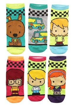 Women's Scooby Doo 6 Pair Pack Low Cut Socks
