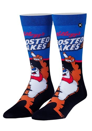 Frosted Flake Knit Adult Crew Socks