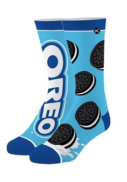 Oreo Knit Adult Crew Socks