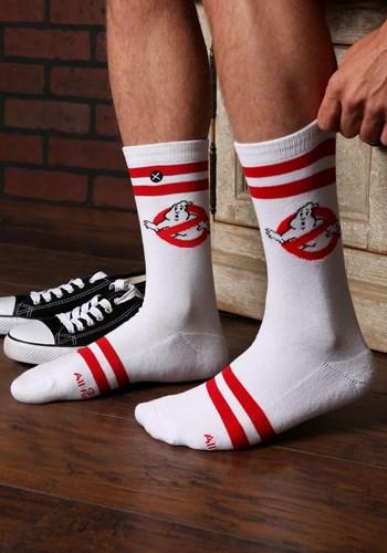 Varsity Knit Ghostbusters Adult Crew Socks Updated