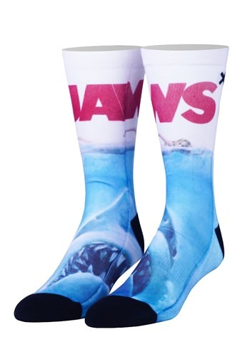 Jaws Cover Sublimated Adult Crew Socks