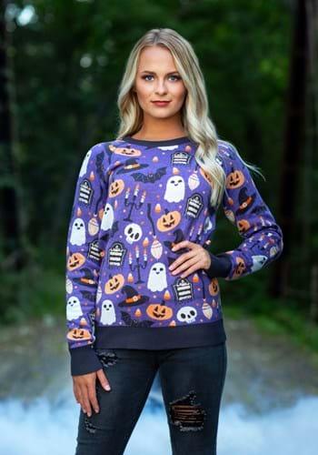 Adult Halloween Mischief Ugly Halloween Sweater