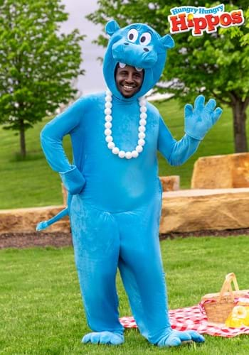 Hungry Hungry Hippos Blue Adult Costume