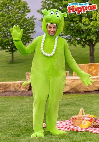 Adult Green Hungry Hungry Hippos Costume