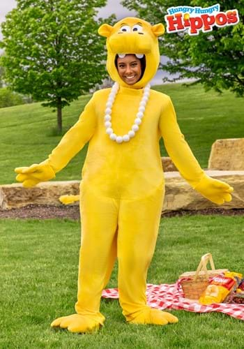 Adult Yellow Hungry Hungry Hippos Costume