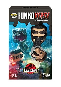Pop! Funkoverse: Jurassic Park 101 - Expandalone Board Game