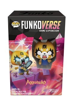 Pop! Funkoverse: Aggretsuko 100 - Board Game Expansion